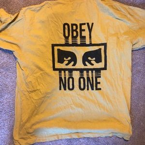 Obey Gold T-shirt